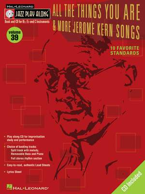 Jerome Kern: All the Things You Are & More: Jerome Kern Songs
