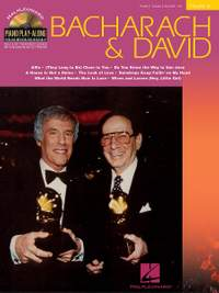Piano Play-Along Volume 32: Bacharach And David