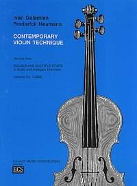 The Galamian Contemporary Violin Technique, Vol. 2