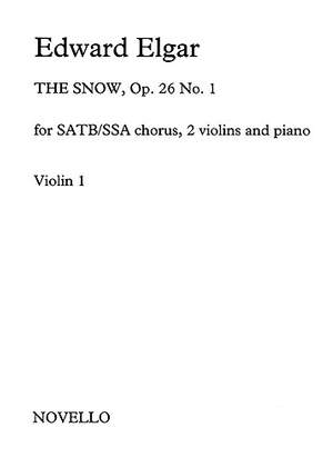 Edward Elgar: The Snow Op.26 No.1 (Violin 1)