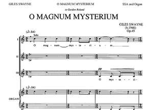 Giles Swayne: O Magnum Mysterium