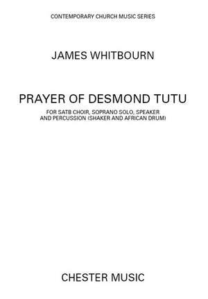 James Whitbourn: A Prayer Of Desmond Tutu (SATB)