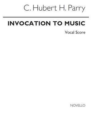 Hubert Parry: Invocation To Music Product Image