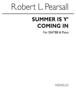 Robert Pearsall: Summer Is Y' Coming In