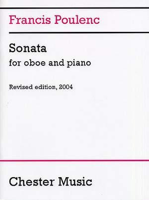 Francis Poulenc: Sonata For Oboe And Piano