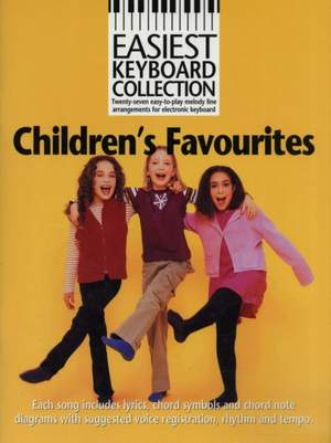 Easiest Keyboard Collection: Children's Favourites