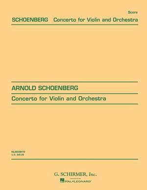 Arnold Schönberg: Concerto for Violin and Orchestra, Op. 36