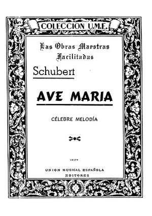 Franz Schubert: Ave Maria Facil