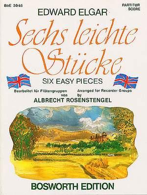 Edward Elgar: Sechs Leichte Stucke Op.22