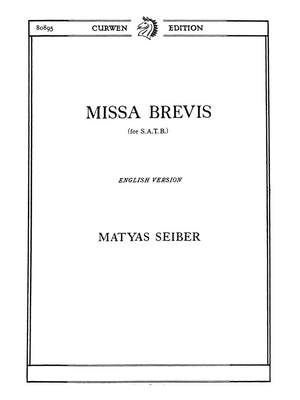 Matyas Seiber: Missa Brevis Product Image