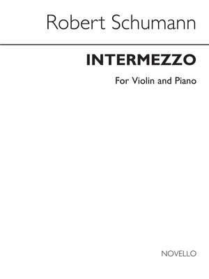 Robert Schumann: Intermezzo (Violin/Piano)