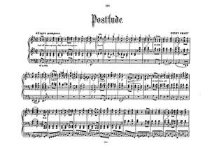 Henry Smart: Postlude In D For Organ