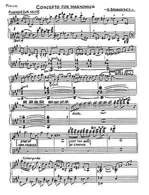 Michael Spivakovsky: Concerto For Harmonica And Orchestra