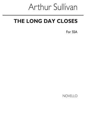 Arthur Seymour Sullivan: A The Long Day Closes