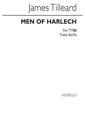 J. Tilleard: Tilleard Men Of Harlech Ttbb/Tonic