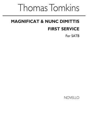 Thomas Tomkins: Magnificat & Nunc Dimittis First Service