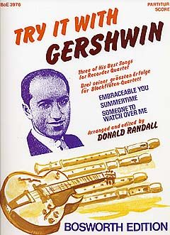 Donald Randall: Try It With Gershwin (Recorder Ensemble)