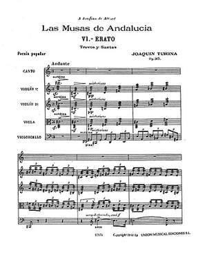 Joaquín Turina: Erato (Las Musas De Andalucia) Op.93 No.6