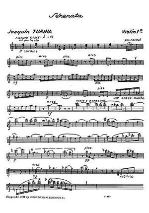 Joaquín Turina: Serenata For String Quartet