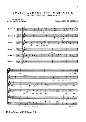 Tomás Luis de Victoria: 52 Motets Volume 3