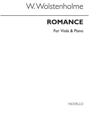 William Wolstenholme: Romance For Viola And Piano