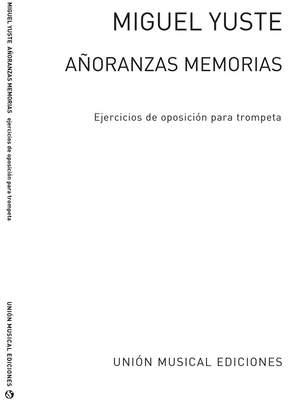 Anoranzas Y Memorias Ejercicios Para Oposiciones