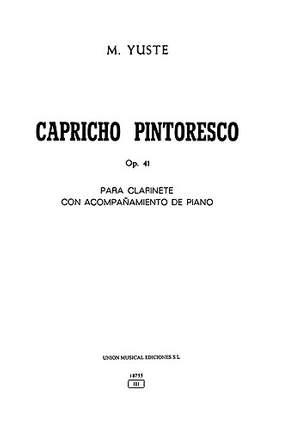 Capricho Pintoresco Op.41