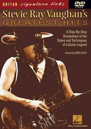 Greg Koch: Stevie Ray Vaughan's Greatest Hits