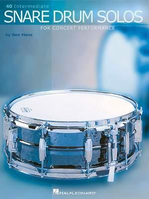 Ben Hans: 40 Intermediate Snare Drum Solos