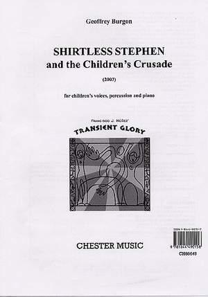 Geoffrey Burgon: Shirtless Stephen And The Children's Crusade
