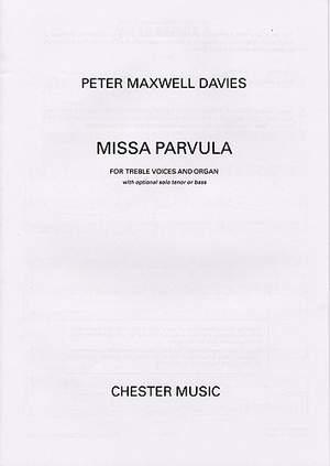 Peter Maxwell Davies: Missa Parvula