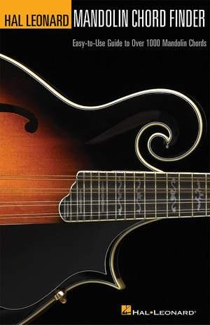 Mandolin Chord Finder (6 Inch. x 9 Inch. Edition)