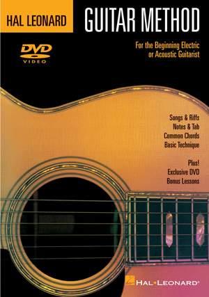 Hal Leonard Guitar Method - DVD