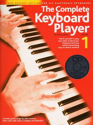 The Complete Keyboard Player: Book 1 With CD