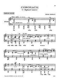 Edgar Barratt: Coronach (Simplified Version)