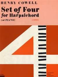 Henry Cowell: Set of 4 for Harpsichord