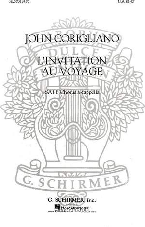 J Corigliano: L'Invitation Au Voyage