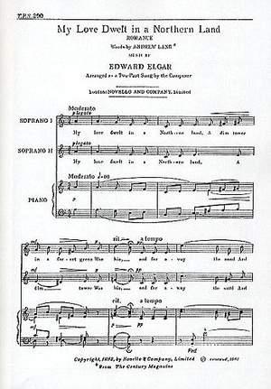 Edward Elgar: My Love Dwelt In A Northern Land
