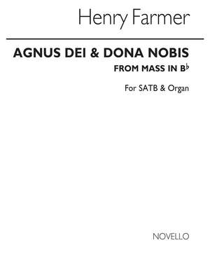 Henry Farmer: Agnus Dei And Dona Nobis From Mass In B Flat