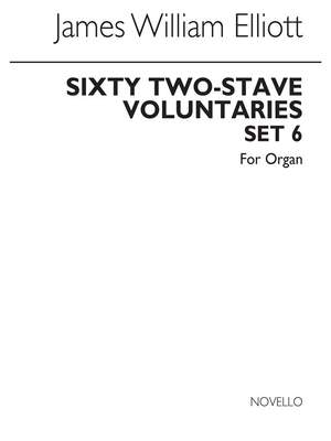James W. Elliott: Sixty 2-Stave Voluntaries For Harmonium Set 6