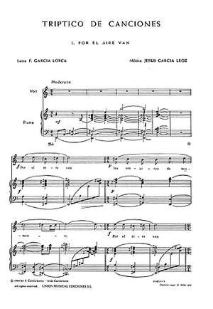 Garcia Leoz: Triptico De Canciones