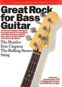 Eric Clapton: Great Rock For Bass Guitar