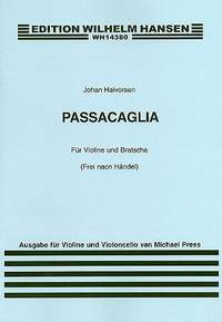 Johan Halvorsen: Passacaglia For Violin and Cello