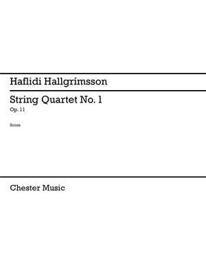 Haflidi Hallgrímsson: String Quartet No.1