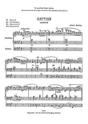 Alfred Hollins: Maytime-Gavotte
