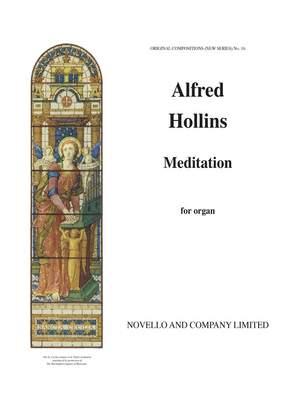 Alfred Hollins: Meditation For Organ
