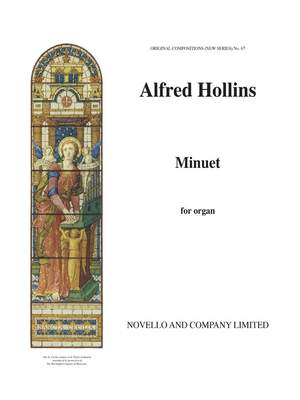Alfred Hollins: Minuet For Organ