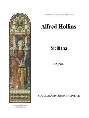 Alfred Hollins: Siciliano For Organ