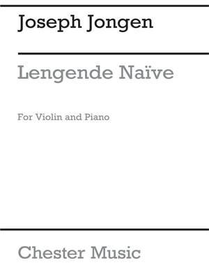 Joseph Jongen: Legende Naive Op.59