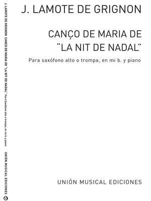 Canco De Maria (Amaz)